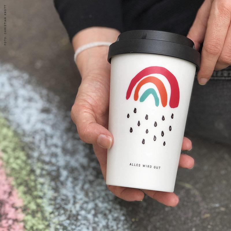 Spendenbecher Kleiner Regenbogen heybico