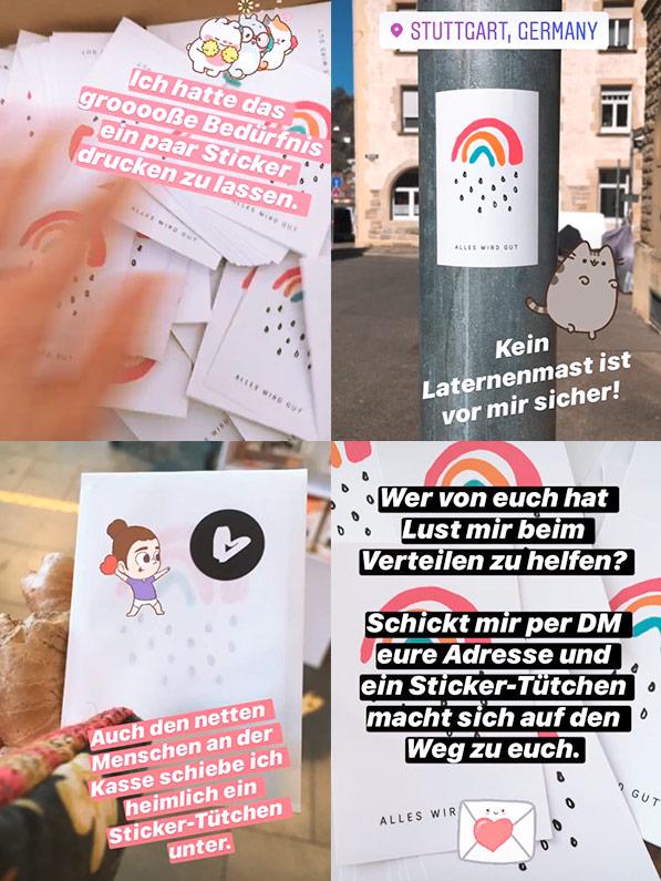 Instagram Kleiner Regenbogen geht viral
