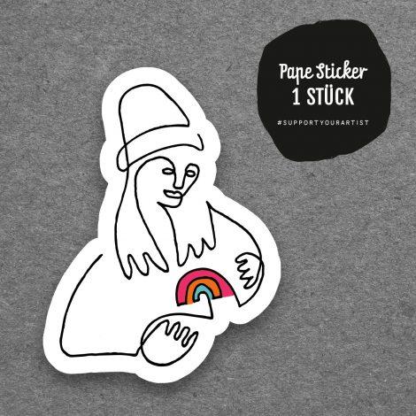 Pape Sticker Kleiner Regenbogen