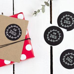 Sticker Für Dich Kleine Papeterie