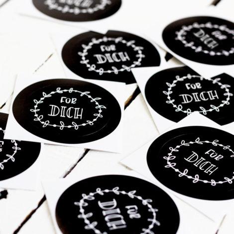 Sticker Für Dich Detail Kleine Papeterie