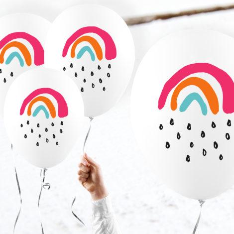 Luftballon Kleiner Regenbogen