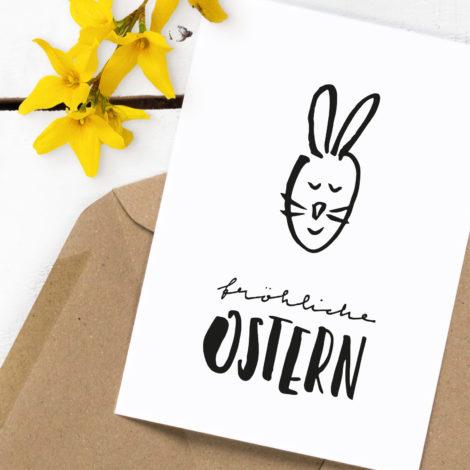 "Postkarte ""Fröhliche Ostern"" Kleine Papeterie"