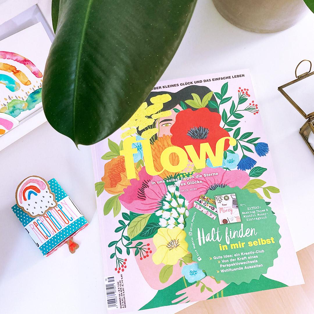 Kleiner Regenbogen im Flow Magazin