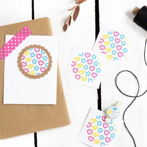 Sticker Happy Baby Kleine Papeterier
