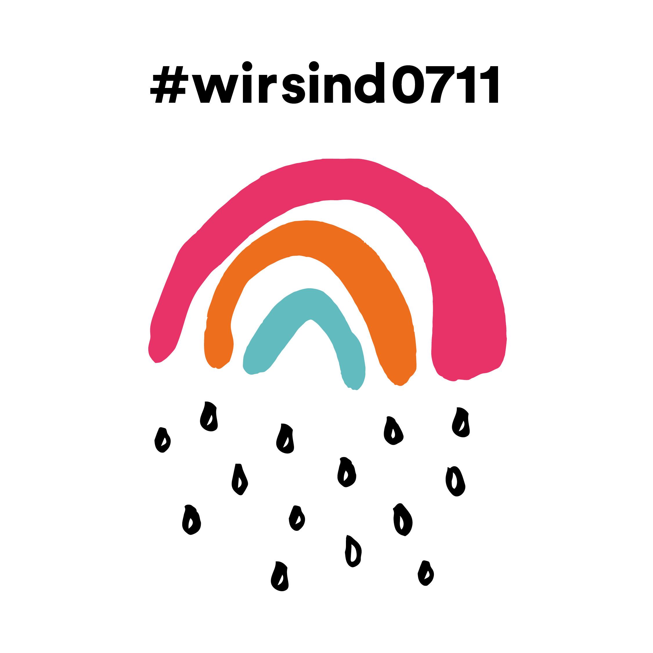 Initiative #wirsind0711 Kleiner Regenbogen