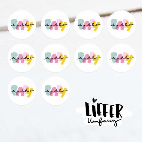 Hello Baby Sticker Lieferumfang