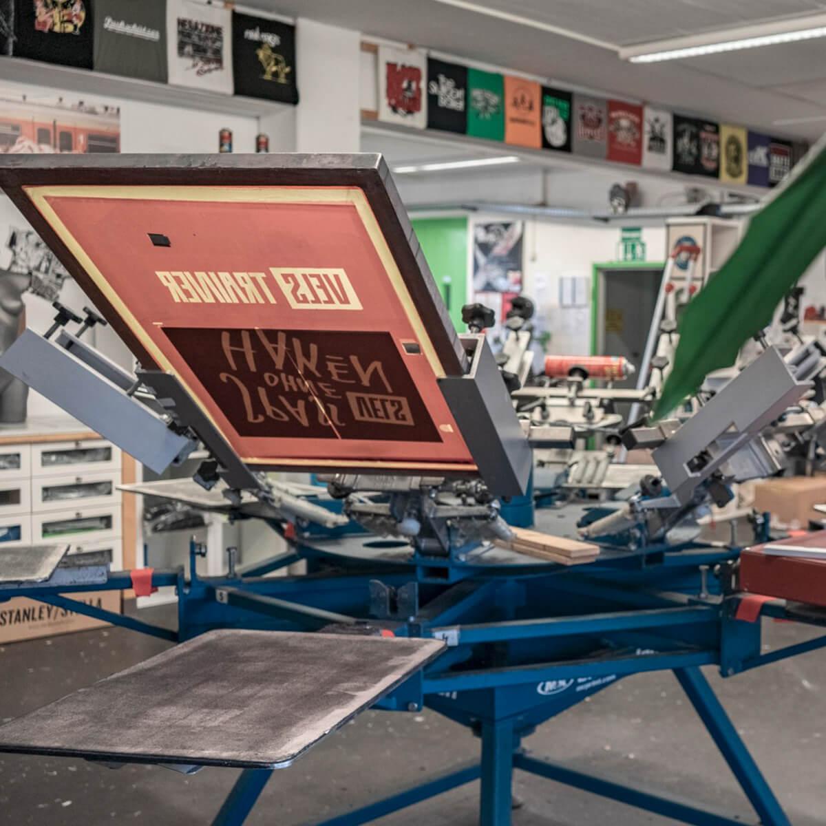 Siebdruckwerkstatt 7Siebe